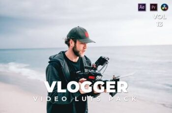 Vlogger Pack Video LUTs Vol.13 22FQQJE 3