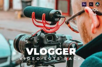 Vlogger Pack Video LUTs Vol.14 RBYTYC5 8