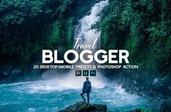 20 Travel Blogger Presets & Action 6181714 1