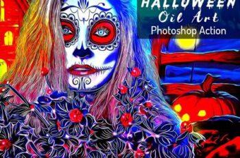 Halloween Oil Art PS Action 6415773 8