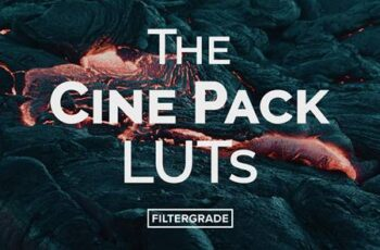 The Cine Pack Video LUTs 5