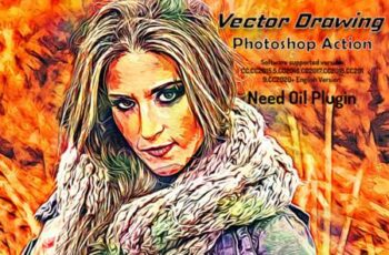 Vector Drawing Photoshop Action 15328363 5