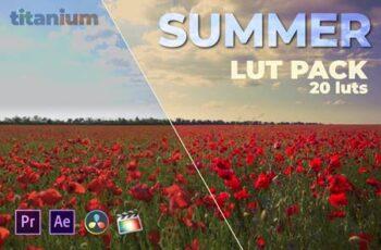 Titanium Summer LUT Pack (20 Luts) JVKPU4Z 5