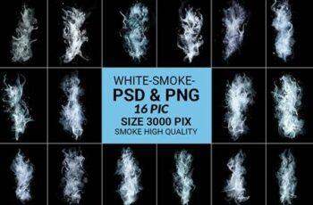 White Smoke Transparent 6190820 1