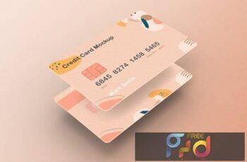 Credit Card Mockup J7676H3 6