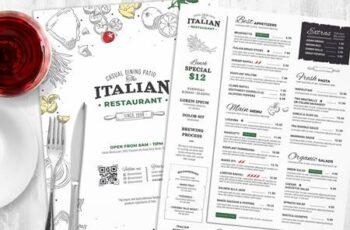 Italian Restaurant Menu Templates V7S7F2L 6