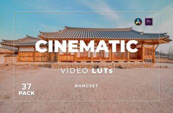 Bangset Cinematic Pack 37 Video LUTs DRDGVTZ 6