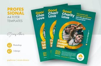 Charity Flyer Templates HPVQJWY 4
