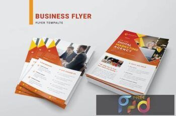 Business Flyer Template RDG3TLA 2