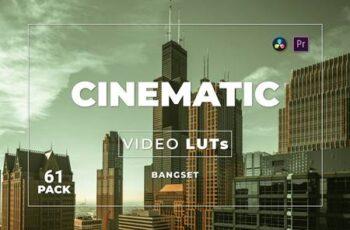 Bangset Cinematic Pack 61 Video LUTs YV9ZSNA 7
