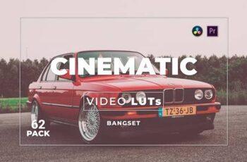 Bangset Cinematic Pack 62 Video LUTs V3ZFTGV 3