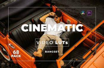 Bangset Cinematic Pack 68 Video LUTs HTUAQVT 4