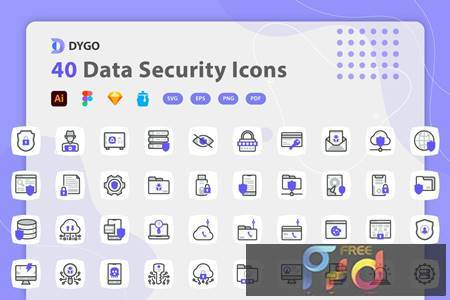 Dygo - Data Security Icons T3Y8VG8 1