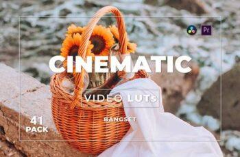 Bangset Cinematic Pack 41 Video LUTs 2EHPAYU 7