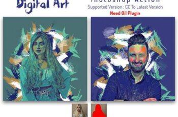 Digital Art Photoshop Action 6451999 7