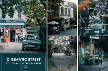 Cinematic Street Action & Lightrom Presets ZMDPCAL 6