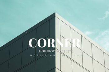 Corner Lightroom Presets Dekstop and Mobile B6WXHJD 2