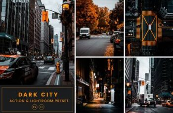 Dark City Action & Lightrom Presets GQW9M7U 6