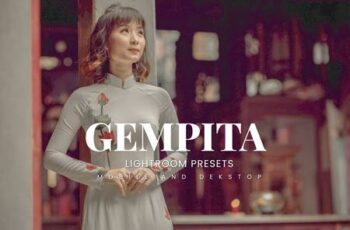 Gempita Lightroom Presets Dekstop and Mobile 2VCQXN6 7