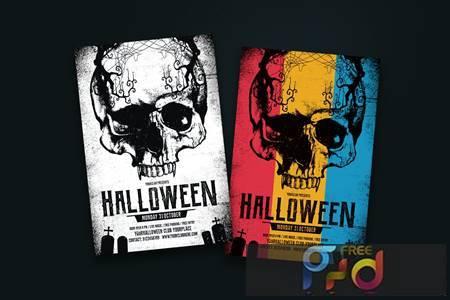 Halloween Flyer 5ZLLENP 1