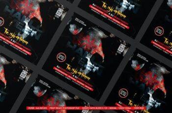 Halloween Night Flyer NBJRCB6 5