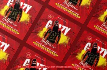 Halloween Night Flyer 7HMDJUF 9