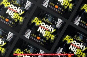 Halloween Night Flyer MKQW3GD 7