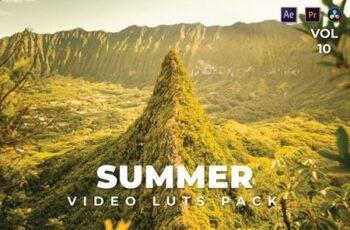 Summer Pack Video LUTs Vol.10 A864VXF 3