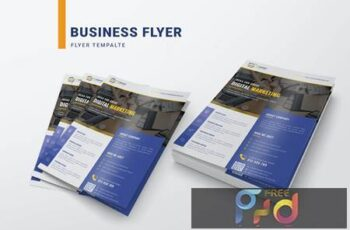 Business Corporate Flyer Template 7LL4DXG 1