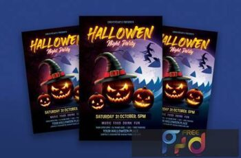Halloween Night Party TT2AAG7 6