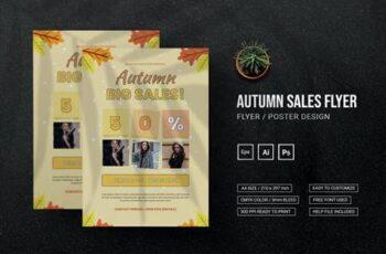 Autumn Sales - Flyer YM8BVCT 7