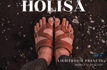Holisa Mobile and Desktop Lightroom Presets TU4QEN2 5