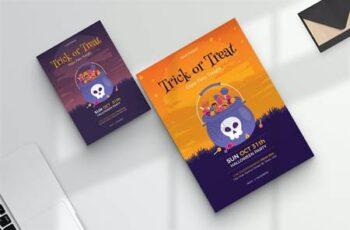 Halloween Night Party & Festival Flyer JJMB3VY 4