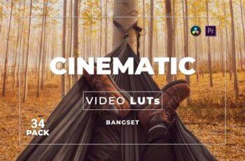 Bangset Cinematic Pack 34 Video LUTs QWAPWRA 3