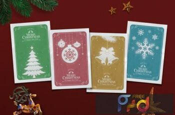 Vintage Christmas Card 3964CCH 7
