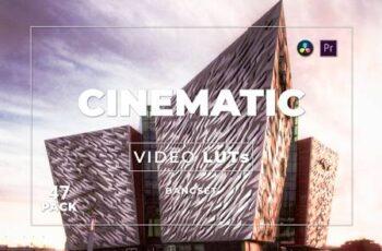 Bangset Cinematic Pack 47 Video LUTs QEMSPMM 5