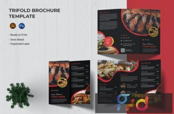 Food Taste - Trifold Brochure RJL32VG 5