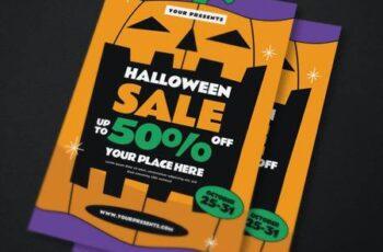 Halloween Sale Flyer YWFDMBW 6