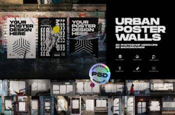Urban Poster Wall Mockups 5013944 15