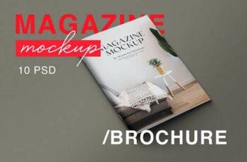 A4 Magazine Mockups HA85L5G 14