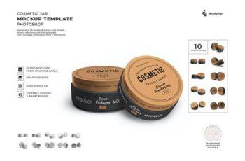 Cosmetic Twist Jar Mockup Template Set Vol 2 K3SNWQ6 13
