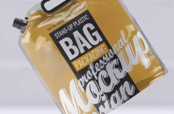 Stand-up Plastic Packaging Bag Mock-Up 33769838 11