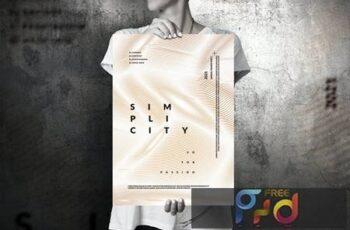 Art Music Event - Big Poster Design 399ZABF 2