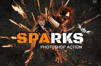 Sparks Photoshop Action 20627467 5
