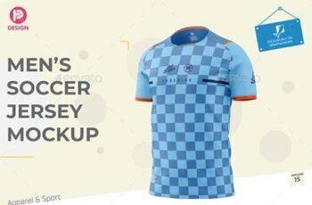 Mens Soccer Jersey Mockup V15 33497023 2