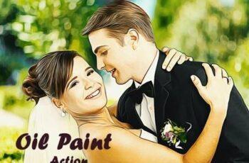 Oil Paint Action - Photoshop Action 20393418 2