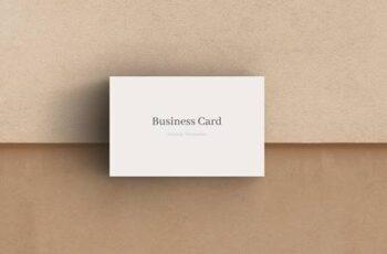 Business card mockup DN4SES5 16