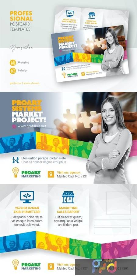Marketing Postcard Templates PC7QPWW 1