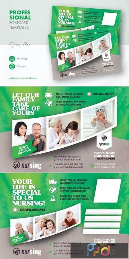 Nursing Home Postcard Templates 2F7RY9A 1