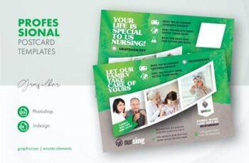 Nursing Home Postcard Templates 2F7RY9A 2